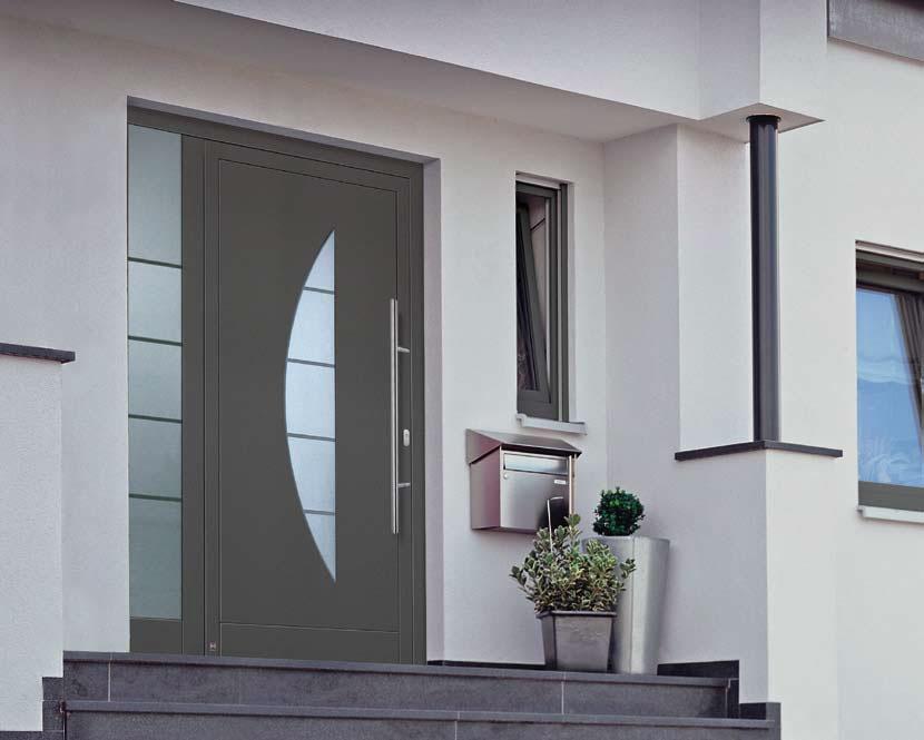 Hliníkové dveře hormann